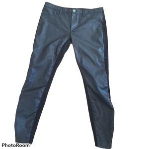Banana Republic Faux Leather Ankle Pant Sz 6